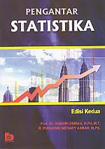 toko buku rahma: buku PENGANTAR STATISTIKA EDISI KEDUA, pengarang husaini usman, penerbit bumi aksara