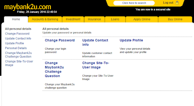 cara reset password maybank2u