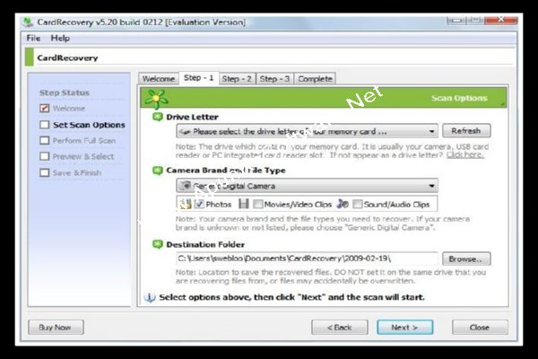 card recovery software with registration key
