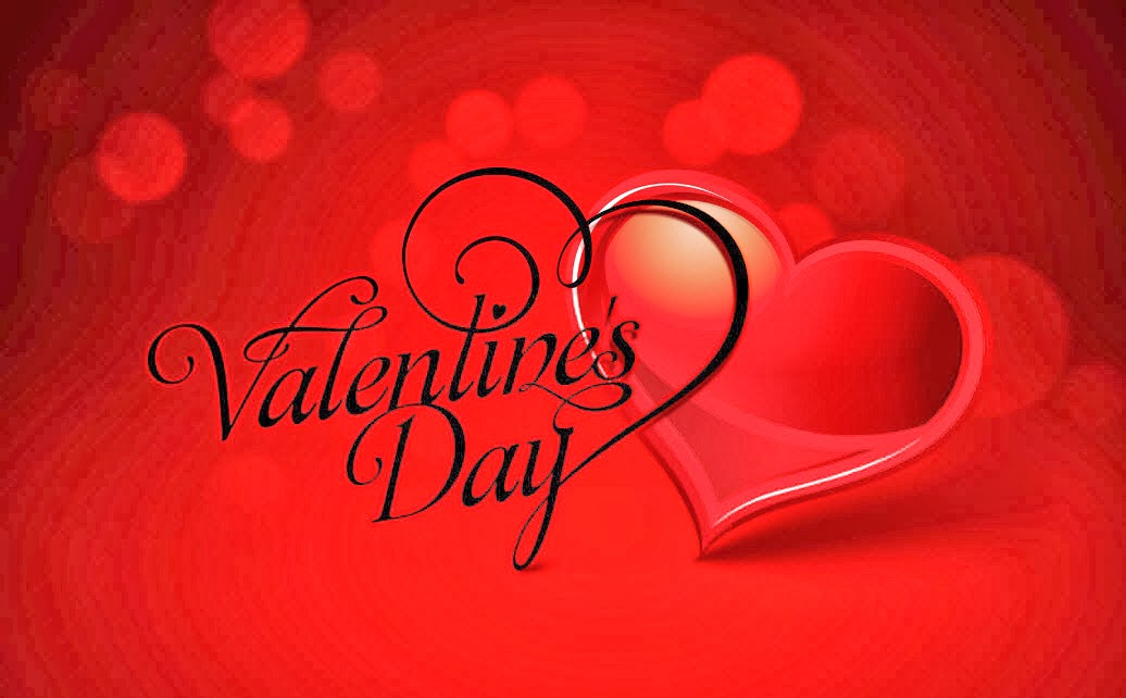 Happy Valentines Day 2014 Greeting Wallpaper