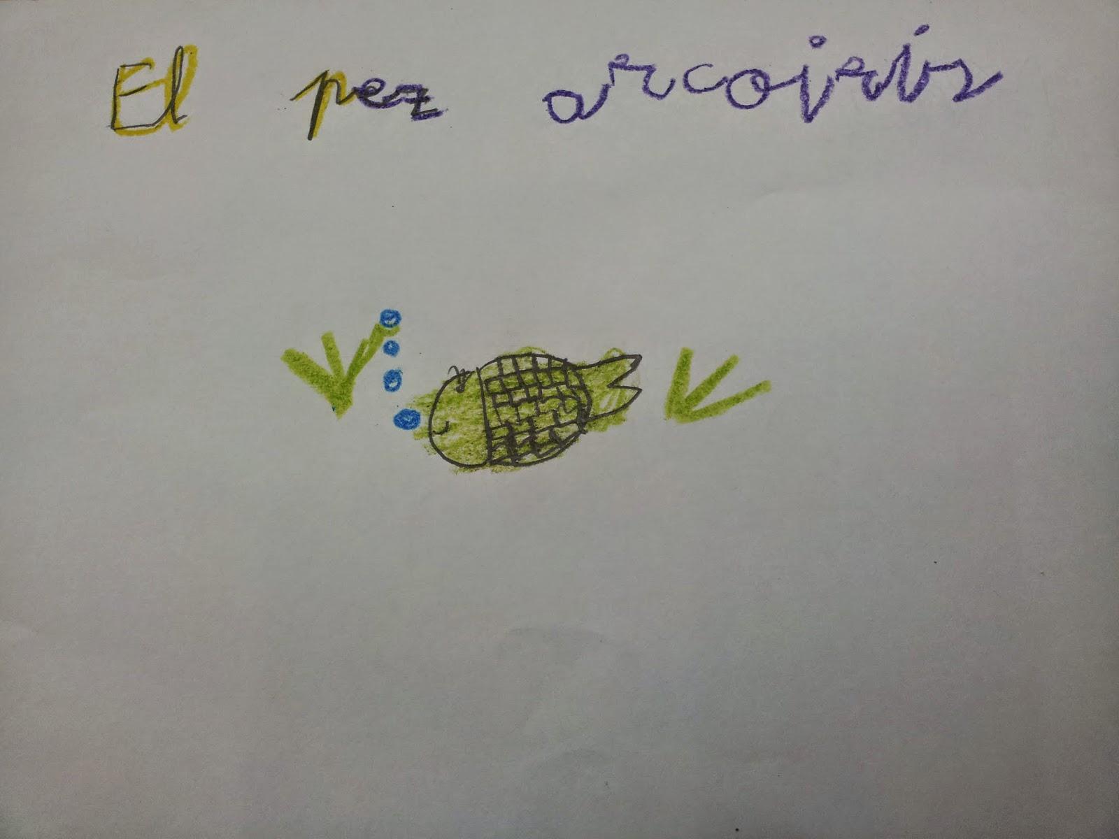 Trabajando en Educación Infantil: El pez arcoiris