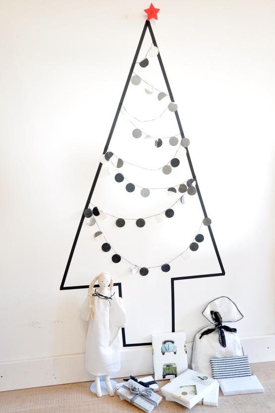 Mon sapin mural...Inspirations pour petits Espaces dans Autour de la Maison 85709199128024615_KEtmgXGL_c