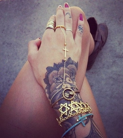 Tattoos On Wrist