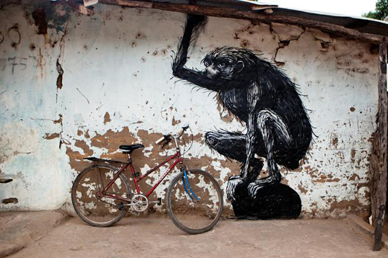 Safari Fusion blog   Living art in The Gambia   A local village living art project