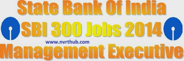 sbi managemnt executive jobs 2014
