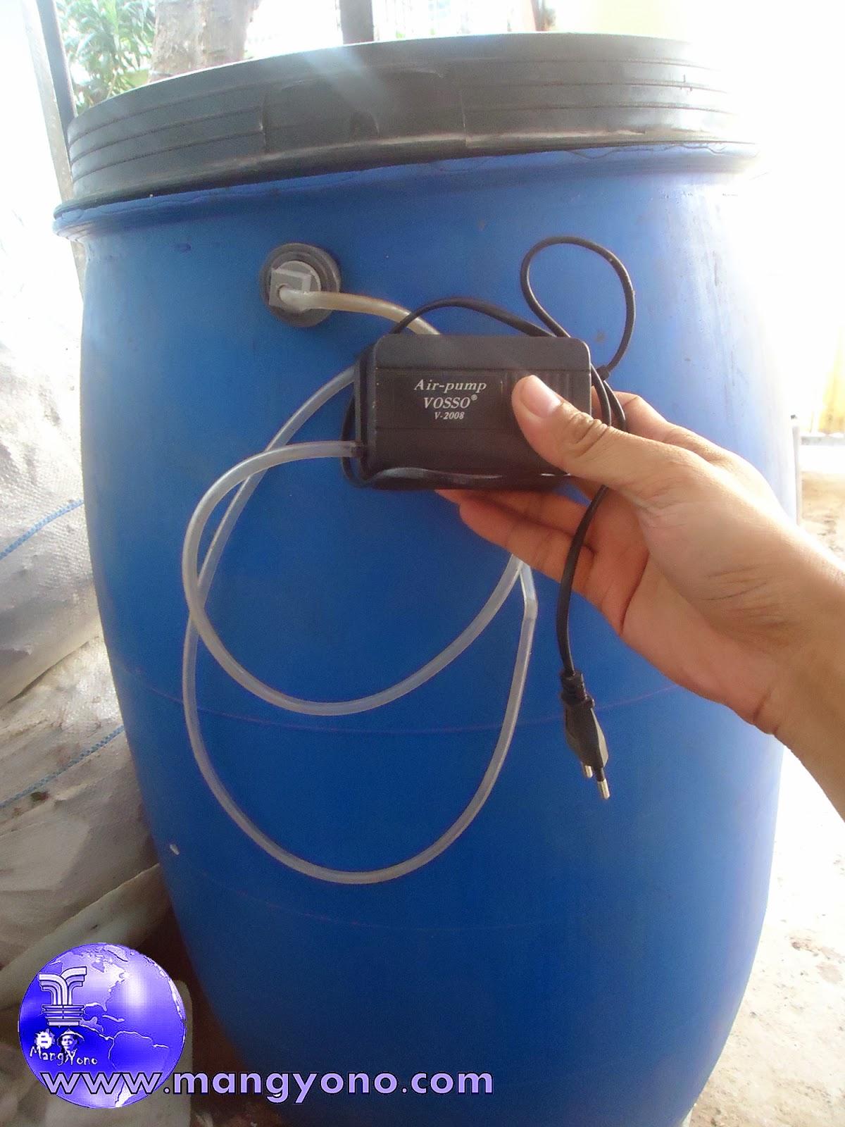 Tabung Ajaib, pompa ini adalah pompa untuk mendorong Pupuk Organik Cair, yang langsung didorong ke Kran.