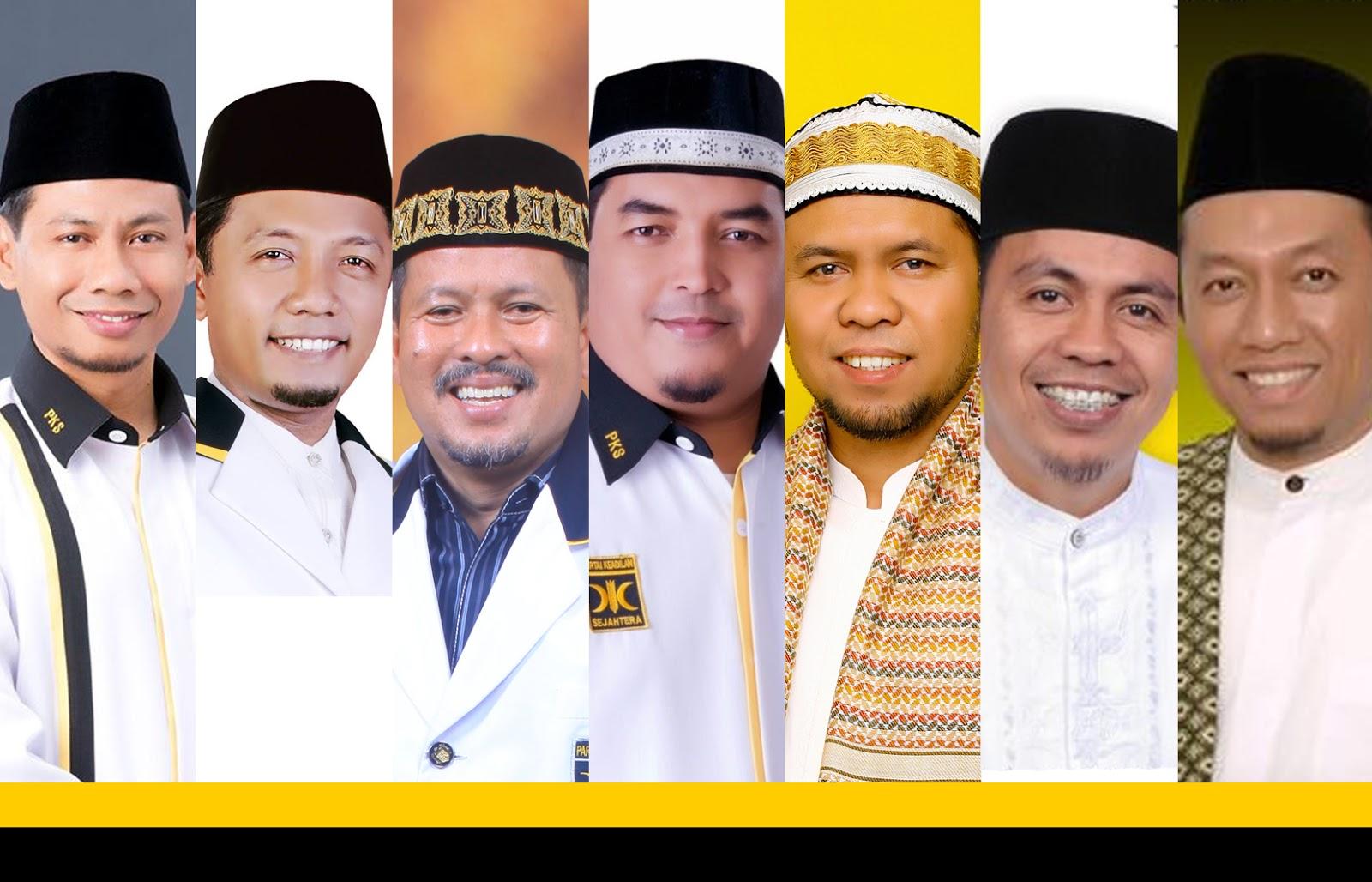 PKS Umumkan 7 Nama Bakal Calon Walikota Medan