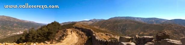 Panorámica sobre la sierra de Tornavacas (BTT en el Valle del Jerte)