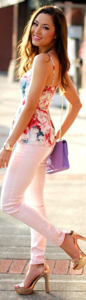 §Pastel & Floral @}-,-;--