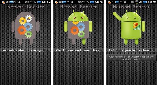 Aplikasi penguat sinyal di Android