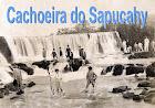 A célebre Cachoeira do Sapucahy.