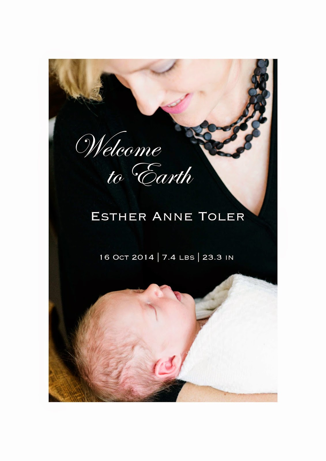 birth announcement newborn