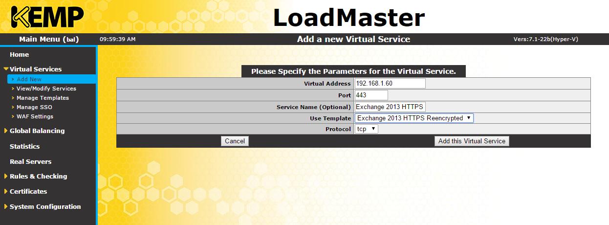 Kemp Series How To Configure An L7 Kemp Virtual Load Balancer Vlb