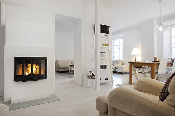 Hogares frescos dise o de apartamento minimalista en for Diseno de interiores hogares frescos