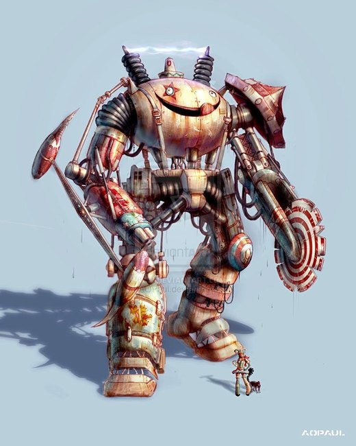 The Vengeful Carnival Mech por AOPaul