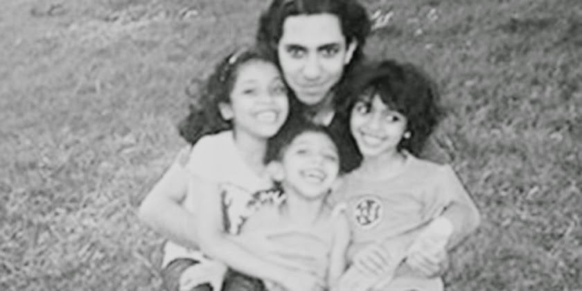 Raif Badawi and his children