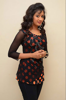 Sandeepthi Lovely teleug actress in Tight Black Kurti Black Leggings
