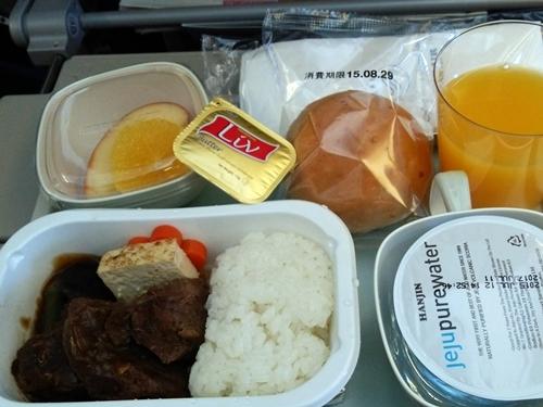 KE706 インフライトミール 機内食