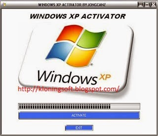 Download Windows XP Activator SP1, SP2, SP3.
