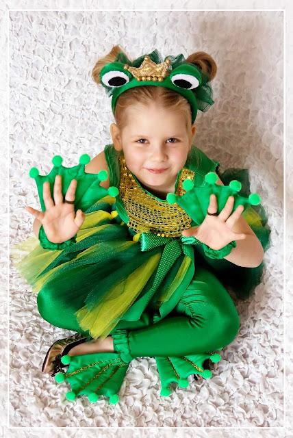 Костюм для лягушки