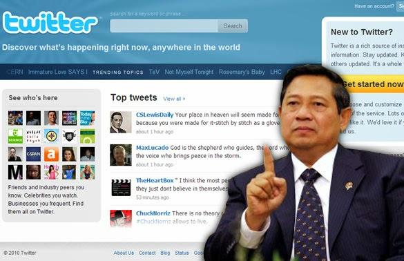 Kicauan Pak SBY tentang naiknya nilai Tukar Rupiah