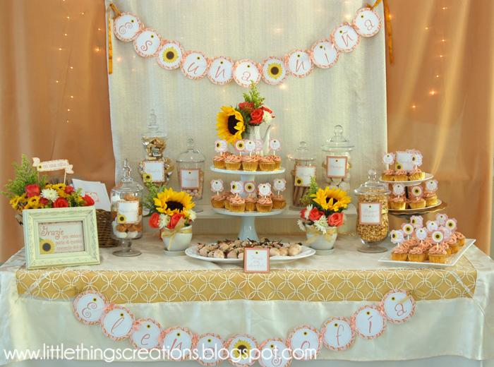 Little things creations fiestas nuevo beb al estilo la for Decoracion italiana