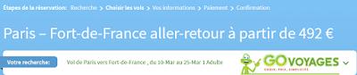 Bons plans voyage Martinique pas cher en Février 2016