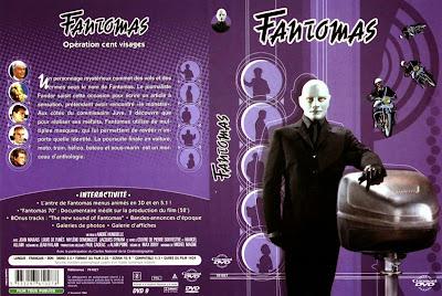 Fantomas (1964) - Carátula dvd - Cine clasico