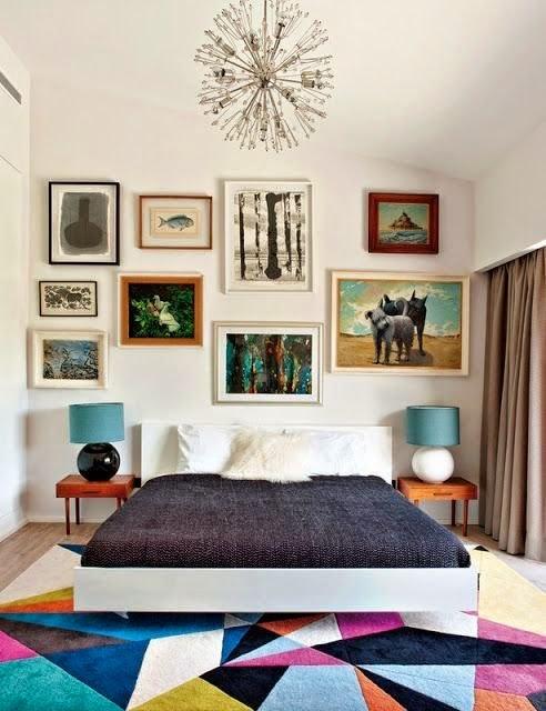 tapete colorido geometrico