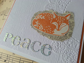 fresh crafts blog: peaceful sleeping fox