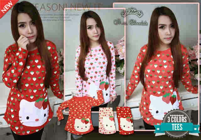 Blouse-HK-strawberry