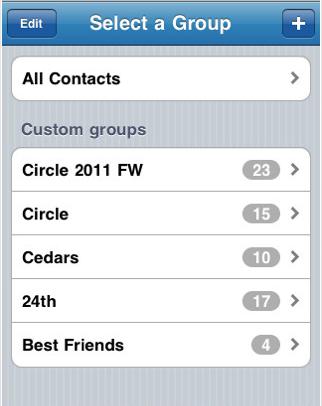 app2iphone iapplications utiles cr er des groupes de destinataires sms sur votre iphone. Black Bedroom Furniture Sets. Home Design Ideas