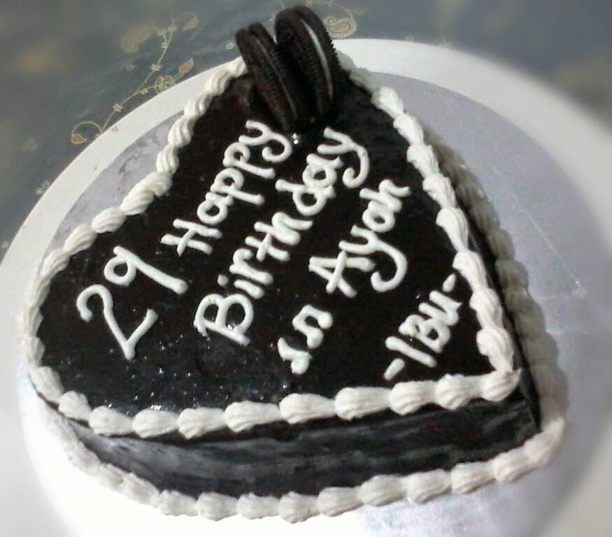 Teratak Jernih: Birthday Cake Untuk Suami Tercinta