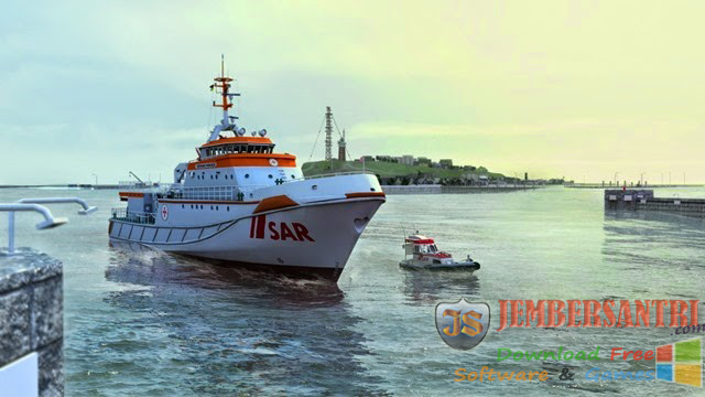 Game Simulasi Kapal Laut ( Ship Simulator Maritime Search Rescue )