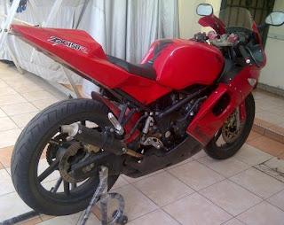 FULL MODIFIKASI Ninja 150 RR 2011 keren
