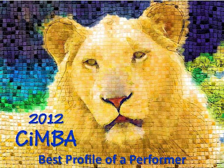 Winner of a 2012 CiMBA Award for my Thelma Todd Two Part Profile