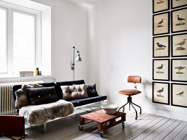 danish modern interior