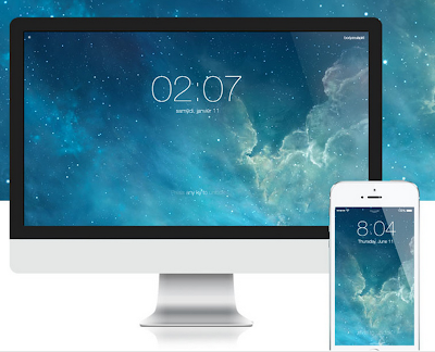 iOS 7 Screensaver for Mac