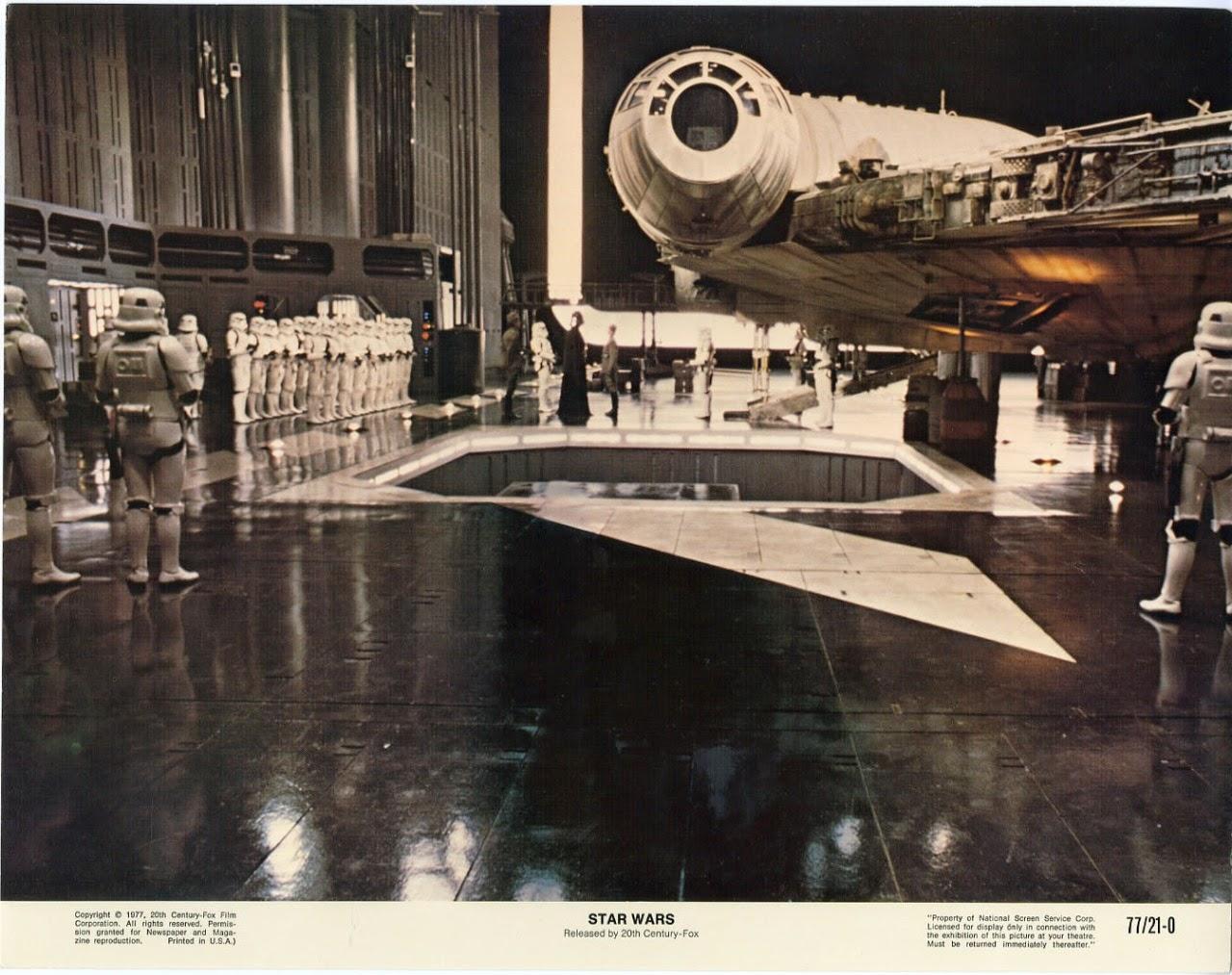 Beautiful Original Star Wars Lobby Card Set From 1977