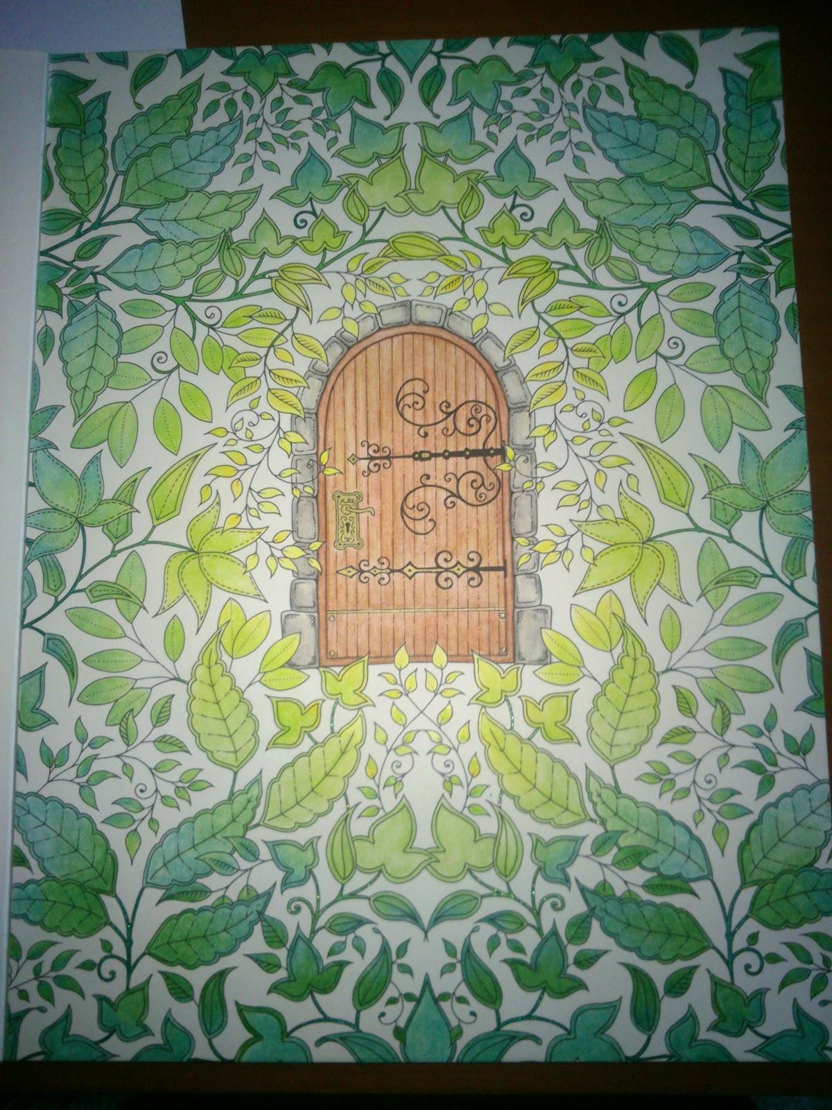Perfectsweetcolors mijn geheime tuin speciale editie for De geheime tuin boek