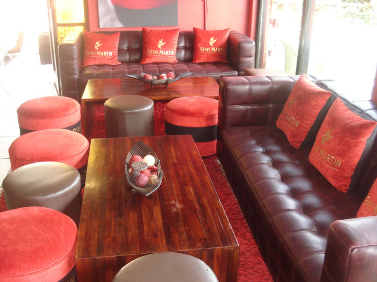 The newly upgraded bar lounge area at Meli's Lounge courtesy of Remy Martin Cognac.