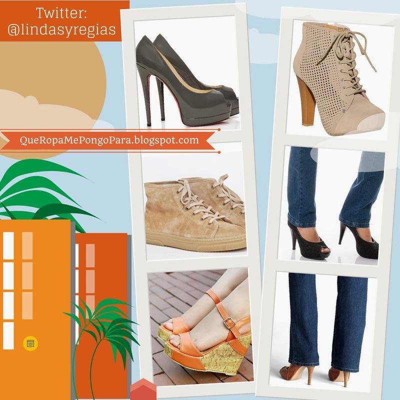 QUE ZAPATOS ME PONGO CON VAQUEROS - Tips para chicas para combinar tus jeans con tus zapatos