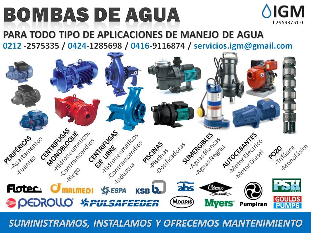 SOLUCIONES EN AGUA Y ENERGIA: BOMBAS DE AGUA PARA TODO ...