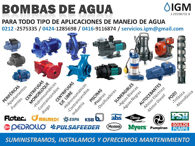 Soluciones en agua y energia bombas de agua para todo for Marcas de bombas de agua
