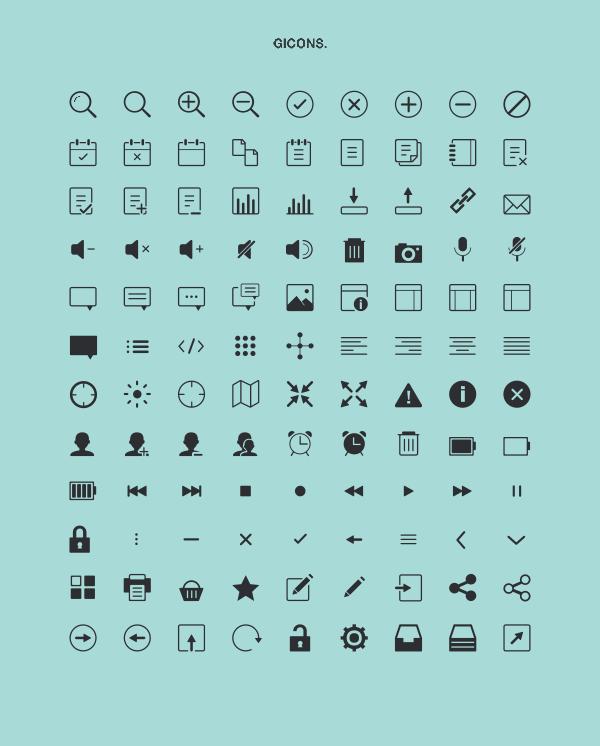 118 Kind line iconset