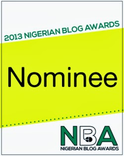 NIGERIA BLOG AWARDS 2013