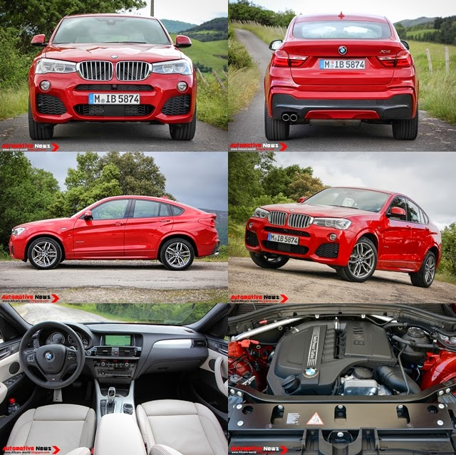 Bmw Xdrive35i Price: Automotive News: 2015 BMW X4