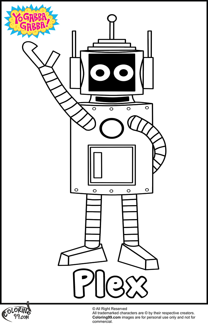 funny plex coloring pages to print