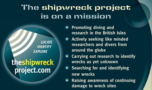 The Shipwrecked Project Signalling a New Era for Wreck Exploration