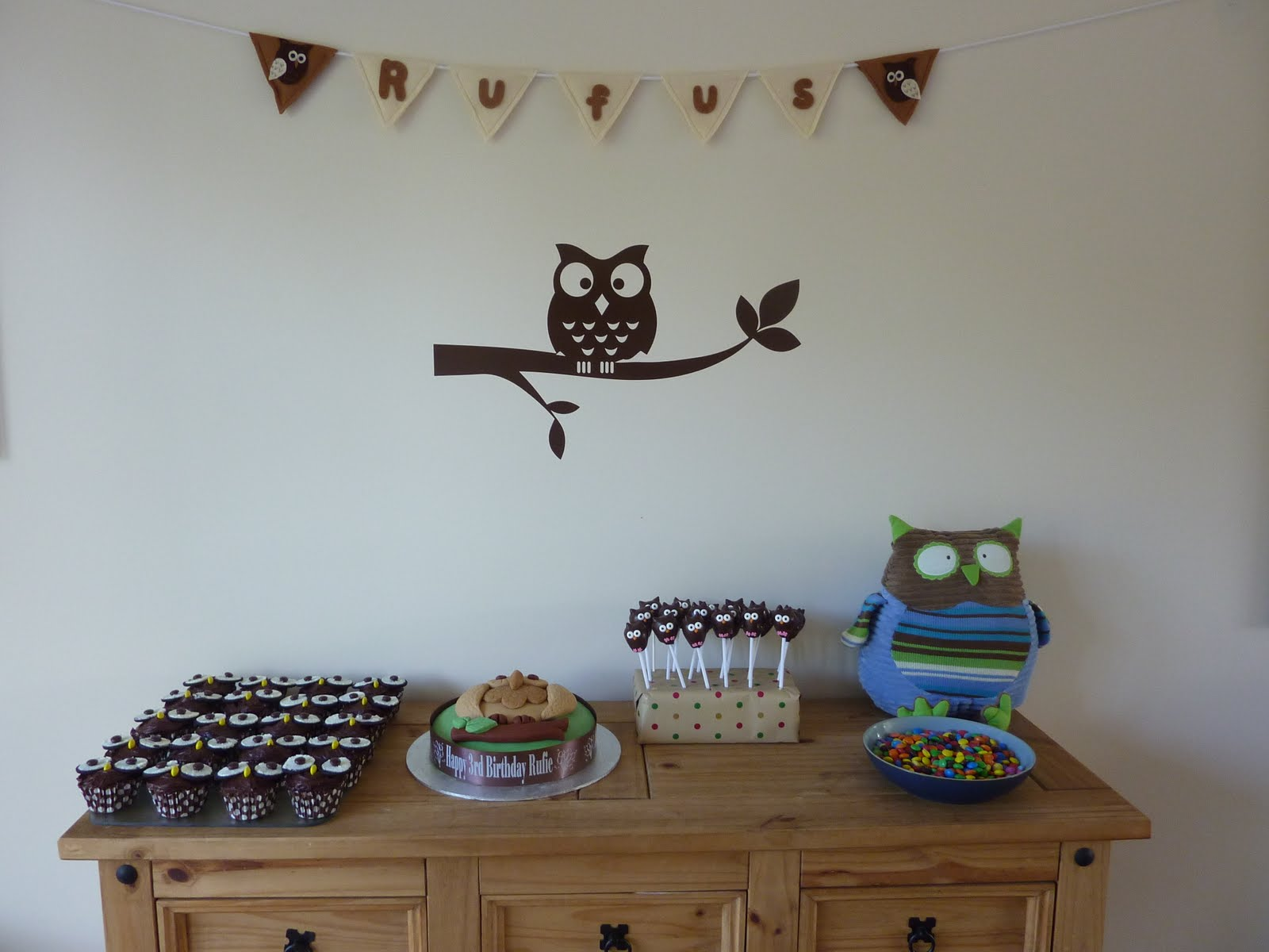 Please Do Not Feed The Animals!: Owl Party!